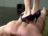 Purple Heel Nightmare